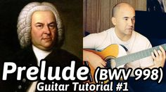Another clear tutorial for Prelude BWV 998 by Johann Sebastian Bach for guitar. This tutorial covers the first 24 bars of this 48 bar piece. Classical Guitar Lessons, Guitar Tutorial, Drugs, Sheet Music, Play, Music Score, Music Notes