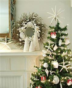 252 best Christmas Beach Theme images on Pinterest | Beach christmas ...