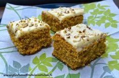 Gluteenitonta leivontaa: Porkkanakakku Farinan jauhoseoksesta