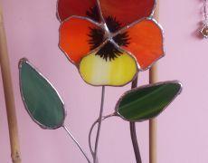 Decoratiune panseluta vitraliu