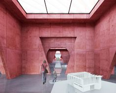 Competition+Entry+Proposes+Colorful+Duo+of+Museums+for+Budapest
