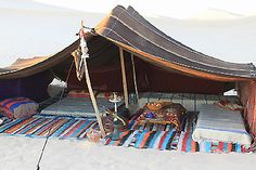 Sous la tente berbère