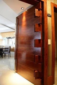 top best interior door design ideas for your stylish and modern home 71 Home Interior, Interior Architecture, Interior And Exterior, Interior Design, Interior Door, Brown Interior, French Interior, Main Entrance Door, Main Door