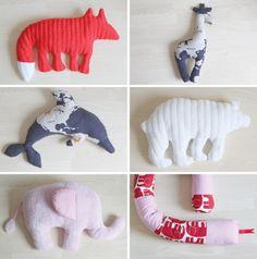 DIY animals by Pinjacolada blog