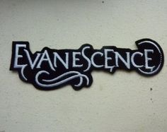 Evanescence Iron On Embroidered Patch Rock Music Band Patches