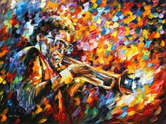 Miles Davis by Leonid Afremov Handmade oil painting reproduction on canvas for sale,We can offer Framed art,Wall Art,Gallery Wrap and Stretched Canvas,Choose from multiple sizes and frames at discount price. Miles Davis, Oil Painting On Canvas, Canvas Art Prints, Tiger Painting, Oil Painting Reproductions, Leonid Afremov Paintings, World Of Color, Palette Knife, Op Art