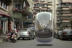Volkswagen Turns Crowdsourced Hover Car Concept Into A Viral Video [Video]