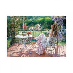 inShop webáruház > Educa Among wisterias, Vicente Romero puzzle, 1000 darabos