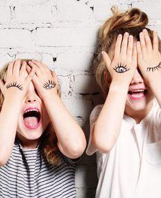 Eine schöne Idee für ein Foto Projekt mit Kindern! #lebenmitkindern #fotoideen #familie #lustig