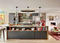 stoer en landelijk | Industriële keuken | Pinterest | Kitchens ...