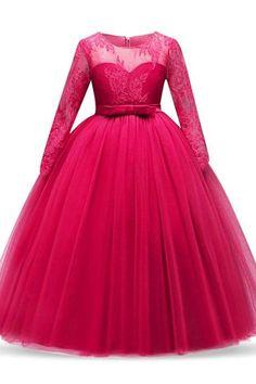 2b4081436d6ad Live It Style It Girls Ball Gown Dress Wedding Princess Bridesmaid ...