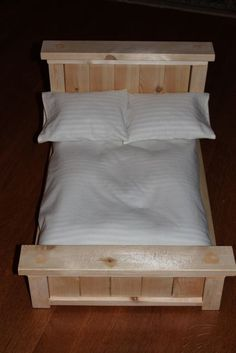 """MADE: Pieces For Reese: Mattress, Pillow & Sheets Tutorial for 18"""" doll"""