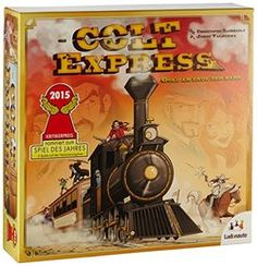 Colt Express on BoardGameGeek Board Games For Couples, Fun Board Games, Games Box, Card Games, Cannes, Rat Queens, Imperial Assault, Blade And Soul, Overture