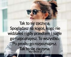 KochamZyc.pl Quotes, Poster, Quotations, Qoutes, Quote, A Quotes