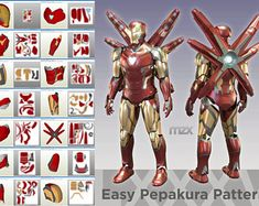 Mark 45 suit from Avengers: Age of Ultron. My own model. ZIP Package include PDO files in layout: Iron Man Suit, Iron Man Armor, Age Of Ultron, Mark 46, Iron Man Fan Art, Infinity War, Hand Cannon, Avengers, 3d Printing Diy