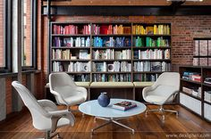 It would be great if we could have significant bookshelves on some walls.  Tolleson Corporate Office 04