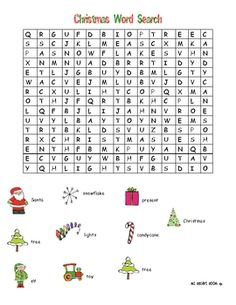 This is a word search with 10 words. The answer key is included. The words are horizontal and vertical.