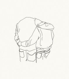 1000drawings:  You give a little love by  Lou Doillon