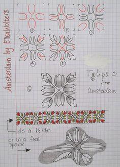 Tekenpraktijk De Innerlijke Wereld: Amsterdam - tanglepatroon