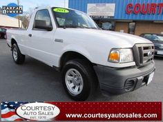 2011 FORD RANGER -- VERY CLEAN 1-OWNER! -- RUNS GREAT! -- CLEAN CAR-FAX! -- Price INCLUDES A 3 MONTH/3,000 Mile WARRANTY! -- CALL TODAY! * 757-424-6404 * FINANCING AVAILABLE! -- Courtesy Auto Sales SPECIALIZES In Providing You With The BEST PRICE On A USED CAR, TRUCK or SUV! -- Get APPROVED TODAY @ courtesyautosales.com * Proudly Serving Your USED CAR NEEDS In Chesapeake, Virginia Beach, Norfolk, Portsmouth, Suffolk, Hampton Roads, Richmond, And ALL Of Virginia SINCE 1976!