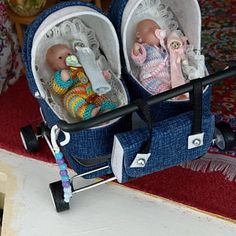 Miniature Baby Stroller 12th scale/ Miniature for doll   Etsy Dollhouse Dolls, Miniature Dolls, Dollhouse Miniatures, Strollers For Dolls, Baby Strollers, Pram Toys, Stainless Steel Wire, Baby Carriage, Prams