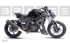 Brasse 31BLK Kawasaki Ninja 250 Killer Mod Looks Unbelievably Cool [Photo Gallery][Video] - autoevolution