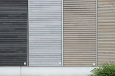 A wooden facade in dura patina - Architecture