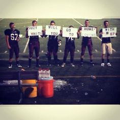 football team homecoming invite - 20 best promposals or hocopromposals