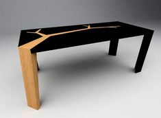 Branching Out: Organic Wood Tables Features Tree Fractals