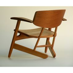 Fernando Mendes de Almeida and Roberto Hirth; Perobo do Campo Wood and Cane 'Santos Dumont' Chair for Mendes-Hirth, 2006.