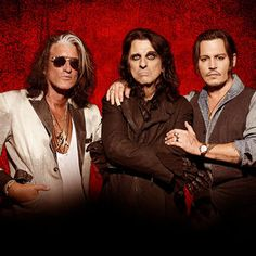 Johnny Depp to focus on touring with The Hollywood Vampires after next two movies - The Hollywood actor's guitarist bandmate Joe Perry has revealed the band are plotting a huge tour of Europe and the UK … The Hollywood Vampires, Hollywood Actor, Fillmore Auditorium, Joe Perry, Music Factory, Jonny Deep, Rock In Rio, Alice Cooper, Italia