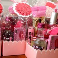Bridesmaid kit...cute idea for day of