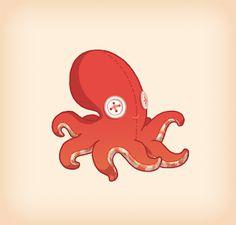 High Heels and Diet Dr. Pepper: Quilt Octopus