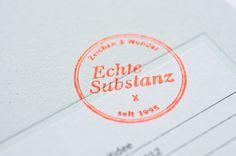 Zeichen & Wunder brand identity — super old-school. Awesome.