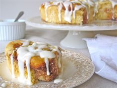 Recipes | Homemade Cinnamon Rolls with Cream Cheese Icing