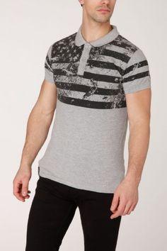 Polo Harkane Flags, Polo, Mens Tops, T Shirt, Fashion, Supreme T Shirt, Moda, Polos, Tee Shirt