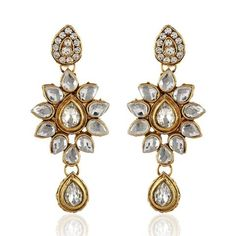 Gold Artificial Earings Set Jwelry ,Indian Dresses