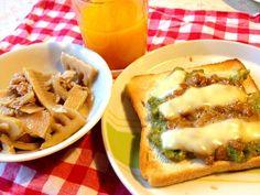 今日は五人レッスンの日です。 サンドイッチ用の8枚切りパンに アボガド納豆乗せて 頂きま〜す - 57件のもぐもぐ - アボガド納豆トースト by mari miyabe