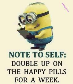 Funny Minions – The Happy Pills