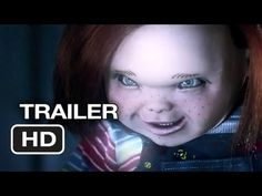 this looks CREEPY why did she stick her finger in his mouth seriously dosent she know hes a little psychopath that kills people cause honestly they should put a chuckie movie in the new movies
