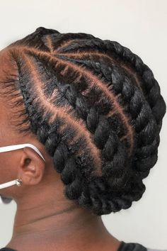 Looking for protective styles for natural hair? Here is a list of gorgeous hairstyle ideas. Keep your hair protected and look amazing. Plus, it will give your hair a break from styling everyday.  #protectivestyles #protectivehairstyles #naturalhairstyles Braided Hairstyles For Black Women Cornrows, Dread Hairstyles, Twist Hairstyles, Gorgeous Hairstyles, Braided Updo, Natural Hair Braids, Natural Hair Care, Natural Hair Styles, Protective Style Braids