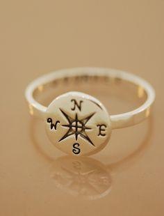 Compass ring - wantable #ad