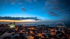 Sunrise by Alfama quartier @ Lisbon - Portugal Oh The Places You'll Go, Places To Travel, Places To Visit, Lisbon Tours, Day Trips From Lisbon, Sea Activities, Portugal Travel, Walking Tour, Far Away