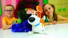 Макс (Тайная Жизнь Животных) в Видео про НОВЫЙ ГОД! Выбираем Новогоднюю ...