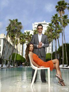 Michael Alan Westen (Jeffrey Donovan) and Fiona Glenanne (Gabrielle Anwar) - Burn Notice