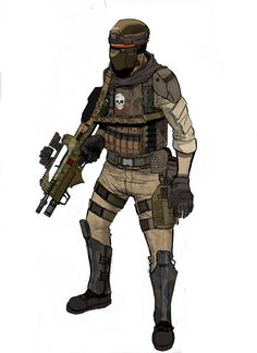 future soldier design by ashleyboonePierce on DeviantArt Character Concept, Character Art, Character Design, Armor Concept, Concept Art, Metal Gear, Science Fiction, Aliens Colonial Marines, Cyberpunk Character