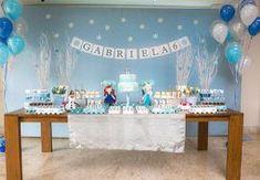 festa niver frozen simples em casa - Pesquisa Google