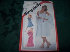 Simplicity Summer SunDress Pattern 5495, Sewing Pattern by vintagecitypast on Etsy