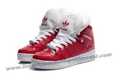 Adidas Attitude Logo Double Heart Tongue Shoes Red 2013