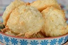 This might be the coconut macaroon COOKIE recipe (as opposed to coconut haystack recipe) that you have been looking for--like the Santa Cruz cookie company coconut cookie recipe. The dough needs to be refrigerated, and there is flour in the cookie! I might have found it!!!